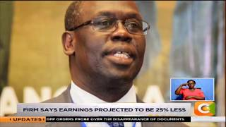 Kenya power profit warning, firm says earnings projected to be 25% less