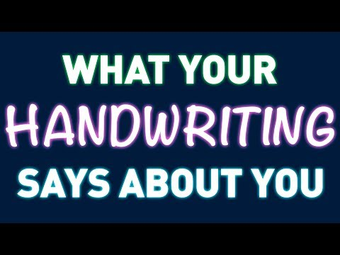 What Your Handwriting Might Say About You