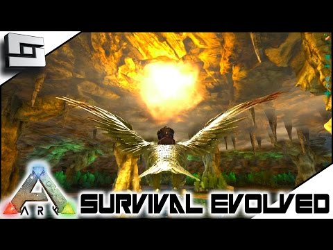 ARK: Survival Evolved - SECRET UNDERGROUND WORLD! S4E10 ( The Center Map Gameplay )