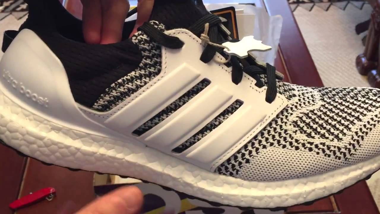 dc18ba95763 SNS x Adidas Consortium Ultra Boost  Tee Time  Sneaker Unboxing ...