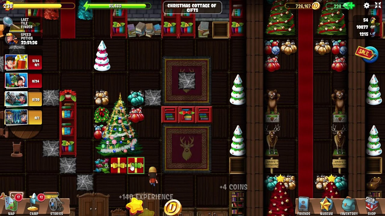 Diggy Adventure Christmas 2020 Hidden Gifts CHRISTMAS COTTAGE OF GIFTS Diggy's Adventure CHRISTMAS 2019 Level