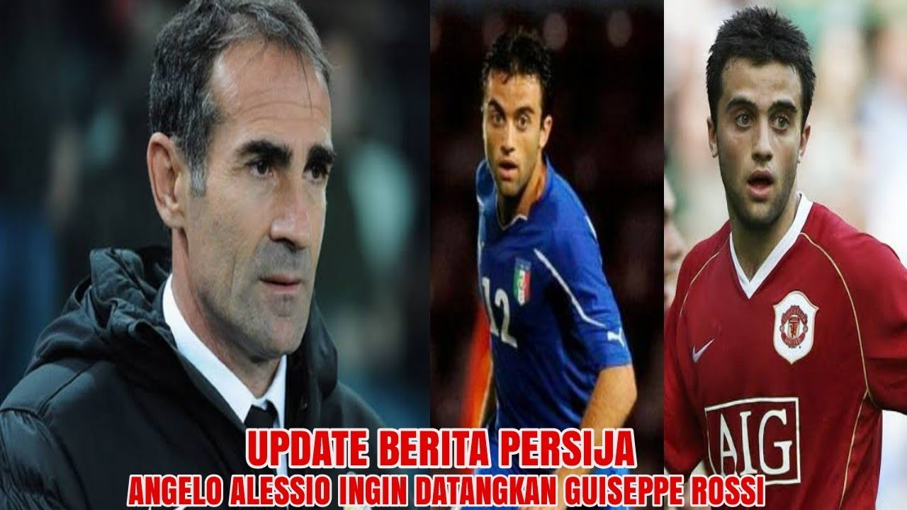 AUTO GACORRR 🔥 Angelo Alessio Bakal Datangkan Mantan Striker MU & Timnas Italia Ini Ke Persija?