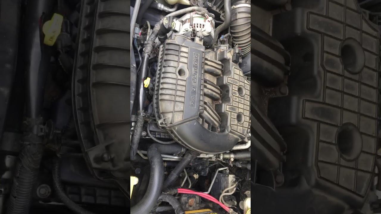 Dodge Caravan 4 0 Engine Tick Youtube