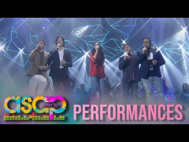 ASAP: Sarah, Piolo, Erik, together with Martin and Jed sing a Christmas performance on ASAP stage