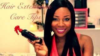 Hair Extensions Care Tips Thumbnail