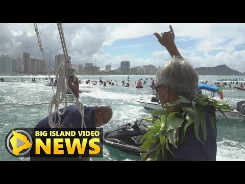Hokulea Homecoming: Nainoa Thompson