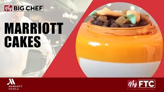Unique, Elegant and Delicious Cakes for your loved ones by Manila Marriott Hotel.