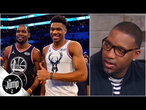 Bucks could sign Durant, Kyrie or Kawhi, and Tracy McGrady says 'that's scary' | The Jump