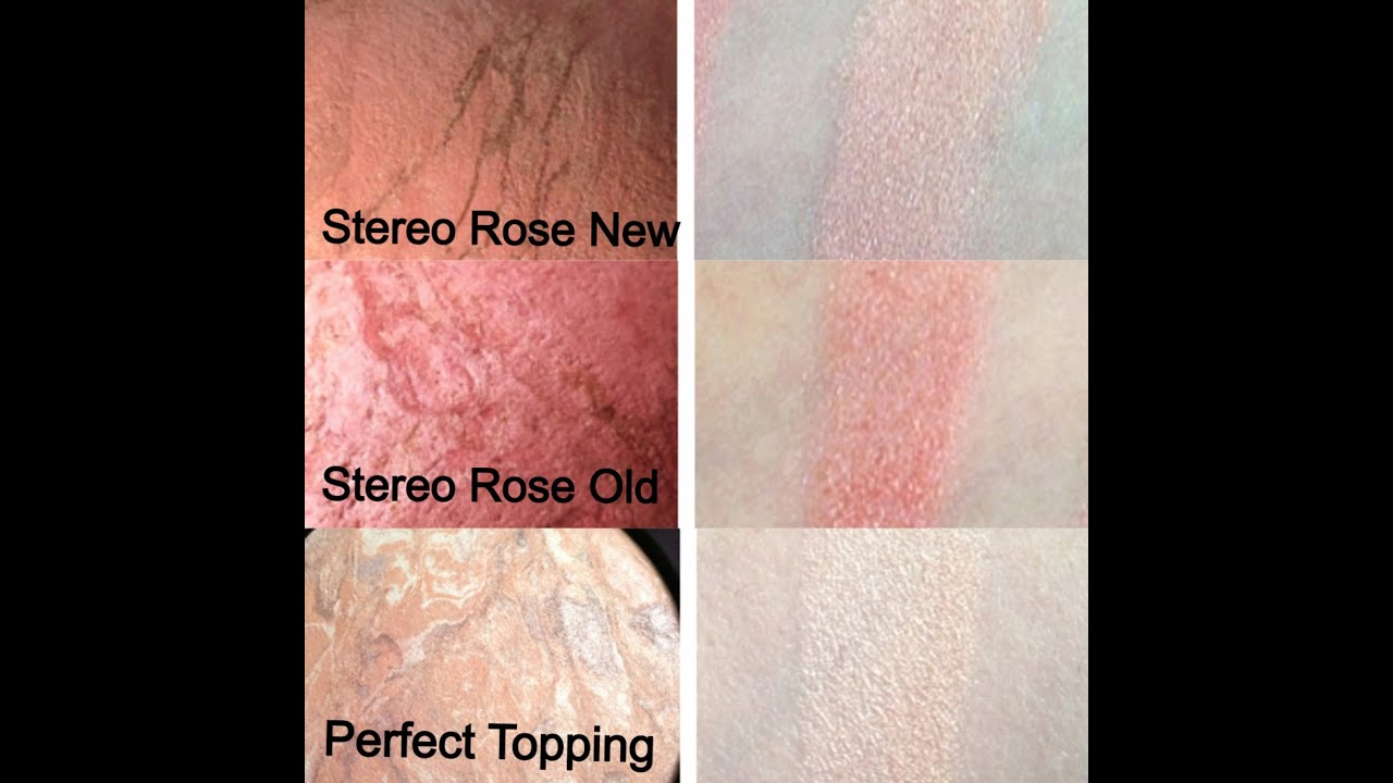 mac fantasy of flowers mineral skinfinish stereo rose perfect