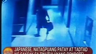 UB: Japanese, natagpuang patay at tadtad ng saksak sa tinutuluyang condotel