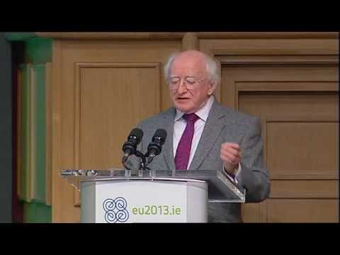 Michael D. Higgins, President of Ireland: Hunger - Nutrition - Climate Justice