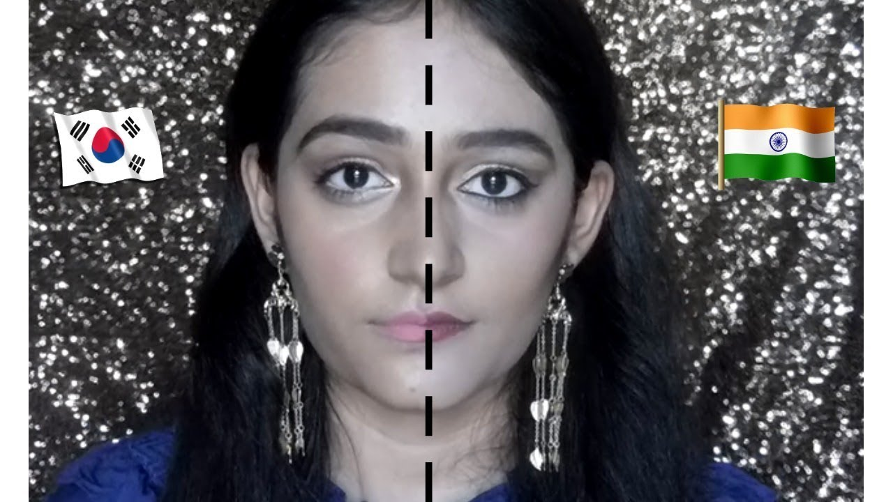 indian makeup vs korean makeup korean natural makeup