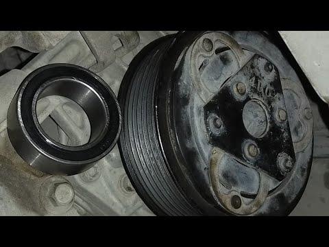 compresor aire acondicionado cambiar balero thumbnail