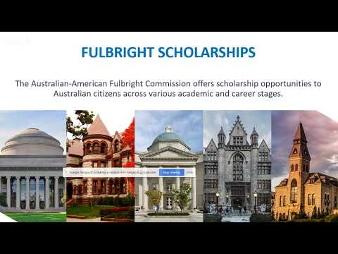Fulbright Scholarships - Info for Academics & Professionals