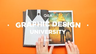Q&A - Graphic Design, Uni & More