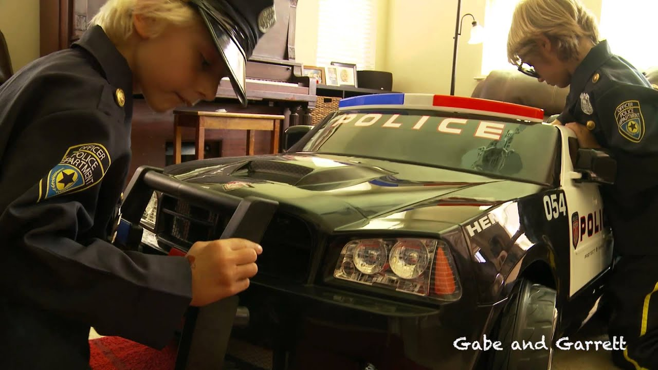 Kid Trax Police Dodge Charger Unboxing And Review Youtube