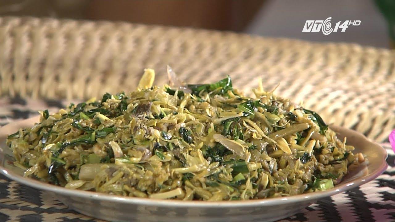 (VTC14)_Lạ với món ăn từ hoa và ngọn đu đủ đực của người Thái Nghệ An
