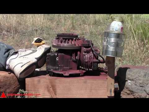 Thermite on a Running Engine