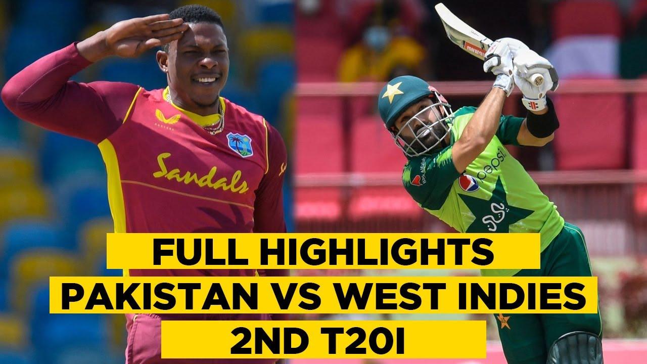 Pakistan vs West Indies | 2nd T20I Full Highlights | PCB | MA2E