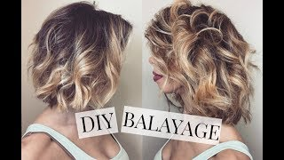 DIY Balayage (Teasing Method)