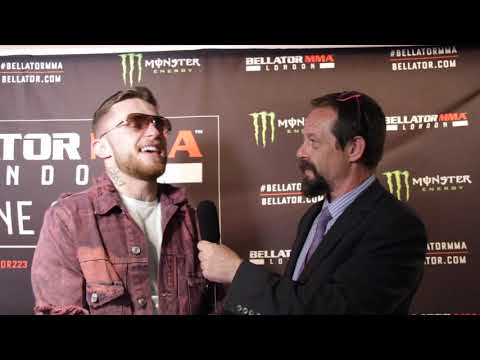Post Fight with James Gallagher At Bellator London