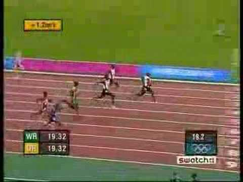 Olympic 200m Mens Final 2004 Athens