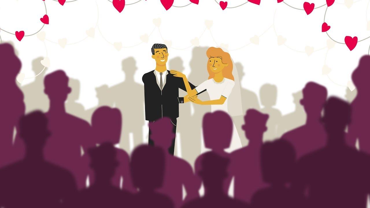 Still uit de video 'Huwelijkse voorwaarden'