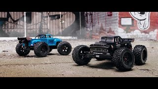 Load Video 1:  ARRMA GRANITE- 1/10th Electric 2WD Monster Truck