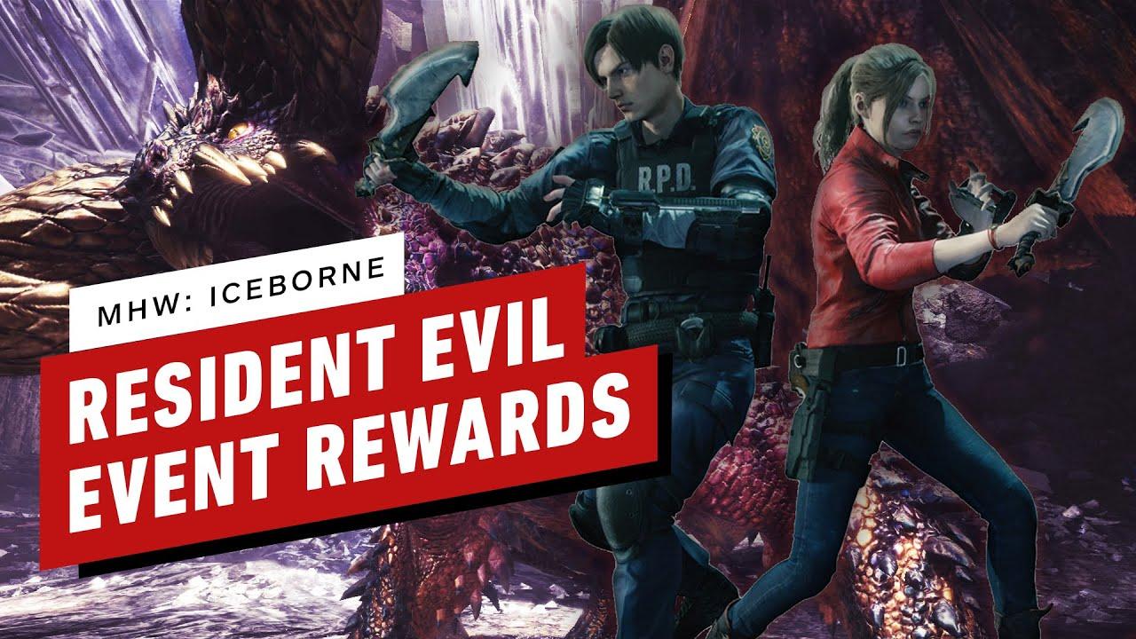 Monster Hunter World: Iceborne x Resident Evil Event Quest Items thumbnail