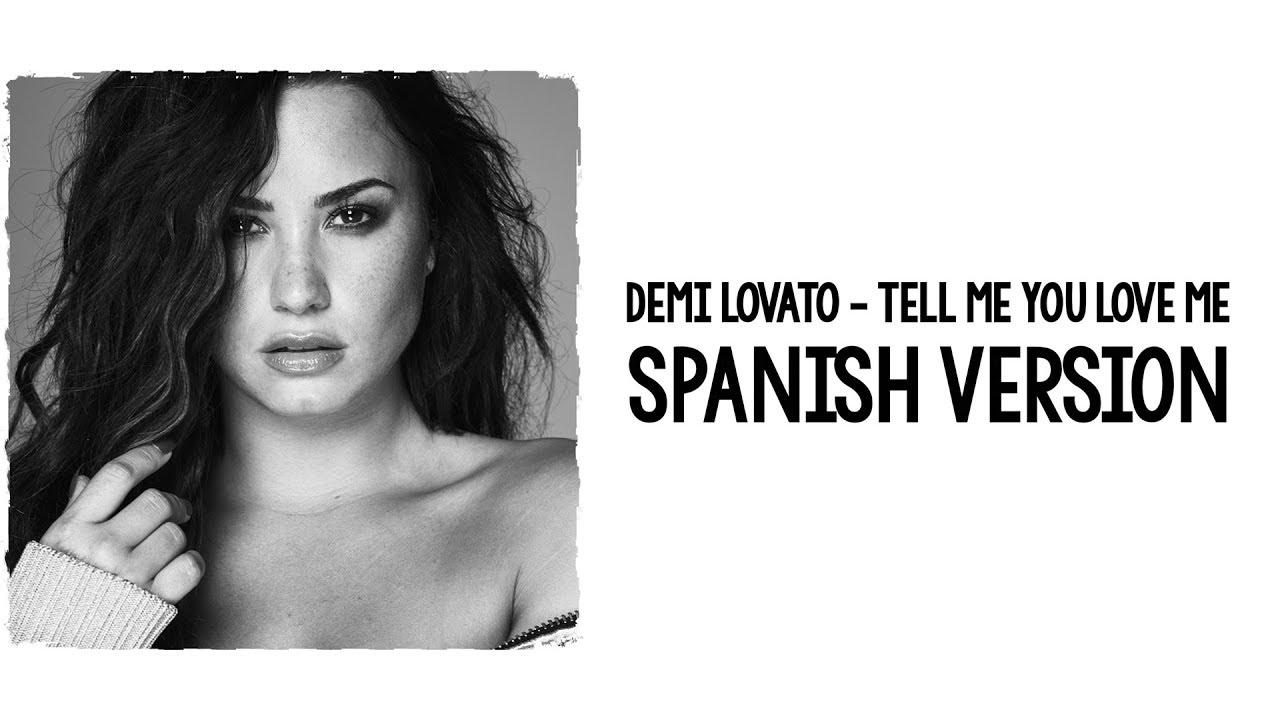 TELL ME YOU LOVE ME Chords - Demi Lovato | E-Chords