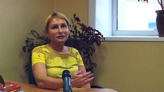 Интервью с Еленой Столяровой