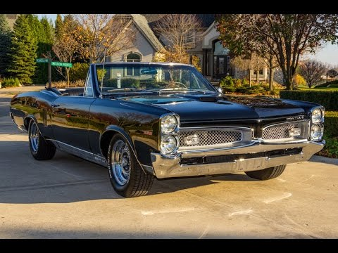 1967 Pontiac Lemans Convertible For