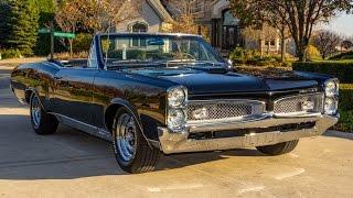 1967 Pontiac Lemans Convertible For Sale