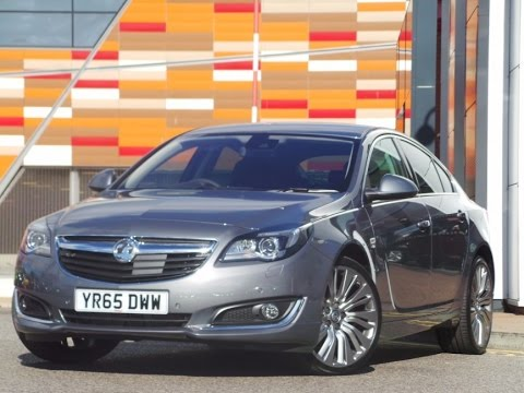 2015 Vauxhall Insignia 2.0 CDTI 170PS Elite Nav 5dr Auto In Grey