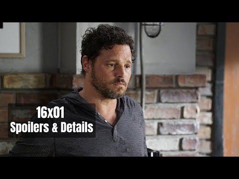Grey's Anatomy 16x01 Spoilers & Details Season 16 Episode 1 Preview