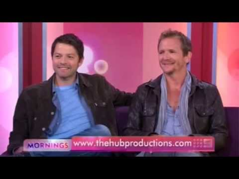 Misha Collins & Sebastian Roche    31 May 2013