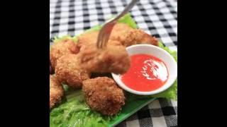 Hướng dẫn cách làm bánh tôm chiên kiểu thái   Thai Fried shrimp balls ngon hấp dẫn