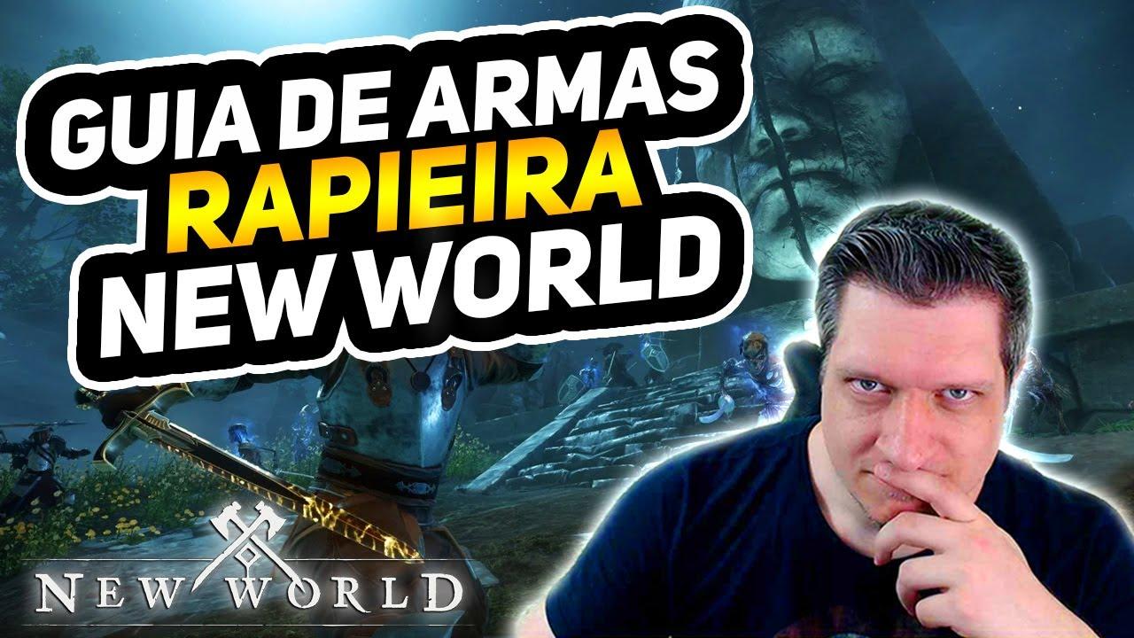 GUIA DE ARMAS E BUILDS - RAPIEIRA!   NEW WORLD DICAS