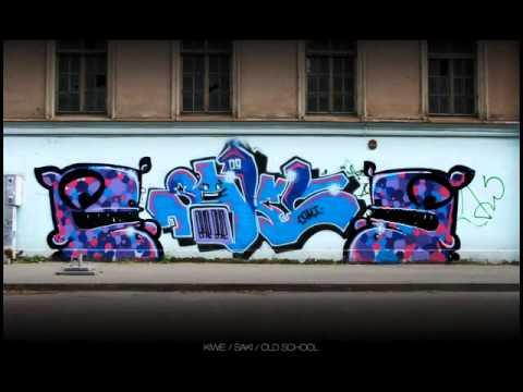 Latvian graffiti artist kiwie.