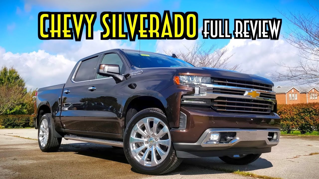 2019 Chevy Silverado High Country: FULL REVIEW + DRIVE ...