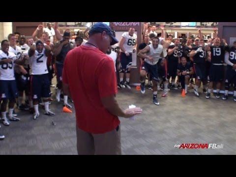 2013 Arizona Football Camp Report – Dance Off