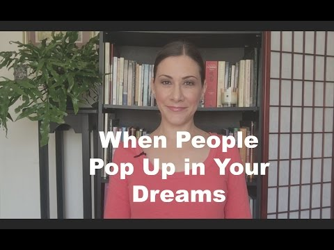 Meeting strangers in your dreams