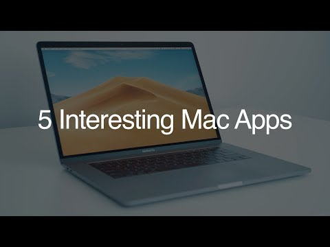 5 Interesting Mac Apps - November 2018