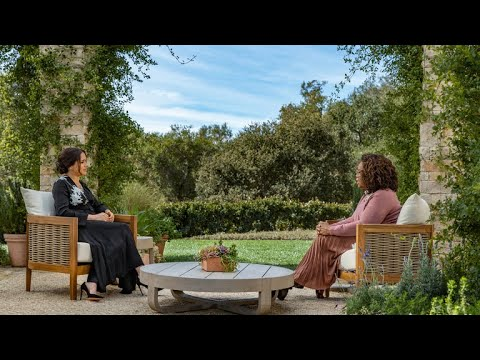 "Oprah With Meghan And Harry First Look | ""It Has Been Unbelievably Tough"" - CBS"