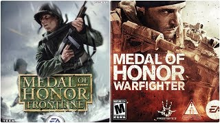 Medal of Honor Xbox Evolution (2002-2012)