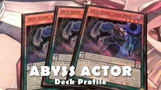 ABYSS ACTOR Deck - Drama Lessons Pendulum Style | Yugioh December 2016