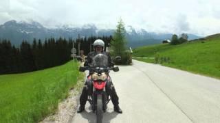 2015 Pfingsten Attersee mit Motorrad