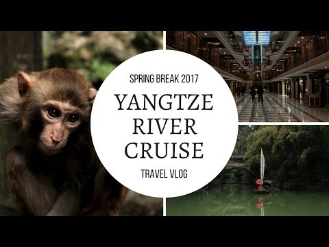 TRAVEL VLOG - YANGTZE RIVER CRUISE | Alice Lee