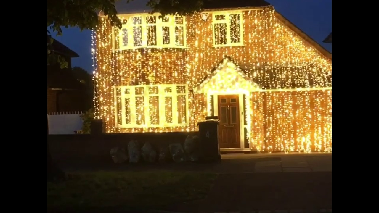 Wedding house lights gold shimmer xtreme sounds leicester - YouTube for Wedding House Light Decoration  557yll