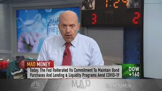 Jim Cramer: I'm sick and tired of hearing that we're in a stock market bubble